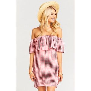 🆕 SMYM • Can Can Dress, Cherry Pie Gingham - XS